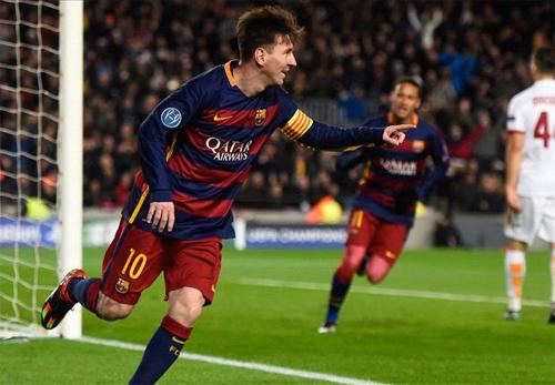 Messi và Suarez lập cú đúp, Barca đại thắng Roma