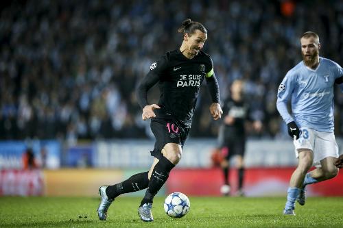 PSG thắng đậm trong ngày Ibrahimovic trở lại quê hương