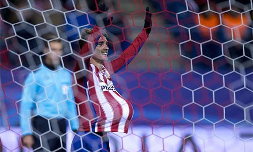 Atletico Madrid thắng nhẹ để đoạt vé vào vòng 1/8