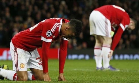 Man Utd đứng trước nguy cơ bị loại ở Champions League