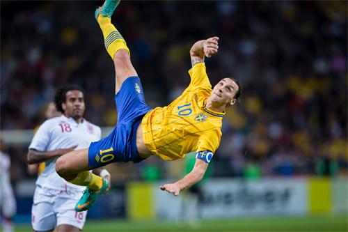 Ibrahimovic lập trang web ghi lại mọi bàn thắng trong sự nghiệp