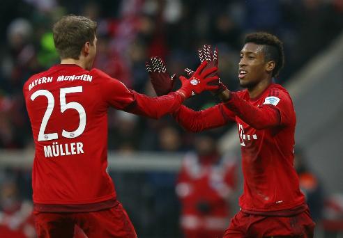 Bayern bỏ xa Dortmund tới 11 điểm