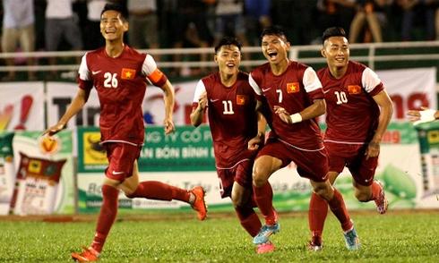 Truyền hình trực tiếp: U21 Việt Nam - U21 Singapore