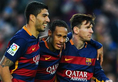 Bộ ba MSN đua nhau ghi bàn, Barca bỏ xa Real chín điểm