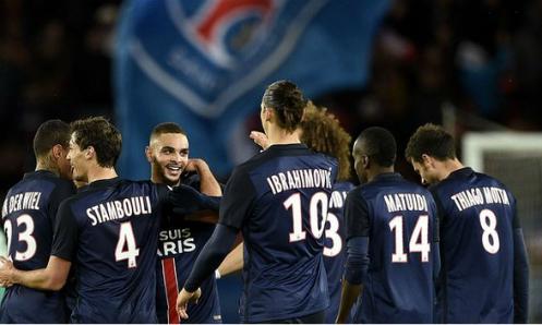 PSG vô địch lượt đi Ligue I sớm bốn vòng
