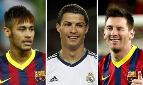 Messi, Neymar và Ronaldo tranh Quả bóng vàng 2015
