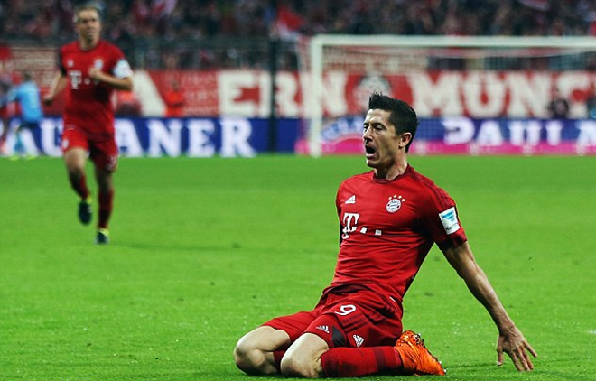 Lewandowski nhận liền bốn kỷ lục Guinness - ảnh thể thao