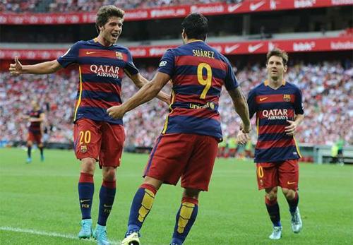 Messi thất vọng vì Suarez không lọt vào Top 3 Quả bóng Vàng