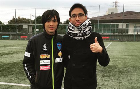 Tuấn Anh thi đấu 25 phút trong trận giao hữu của Yokohama FC