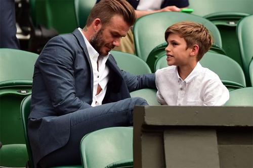 Beckham đau lòng khi con trai không kế nghiệp bóng đá