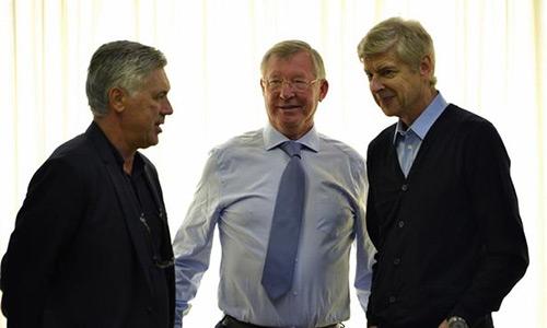 Ancelotti: 'Mẫu HLV như Wenger sẽ không còn khi ông ấy rời Arsenal'