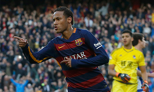 Neymar trở thành cầu thủ Barca đầu tiên thắng giải hay nhất tháng