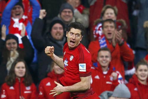 Bayern nghỉ đông với ngôi số một Bundesliga