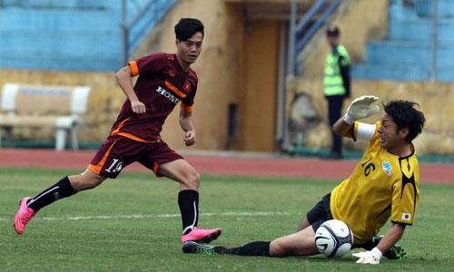 U23 Việt Nam lại thua đội Các ngôi sao hạng tư Nhật Bản