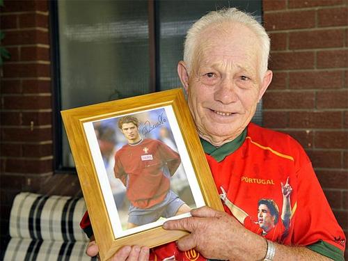 Ông ngoại của Ronaldo qua đời