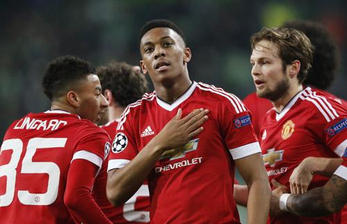 Man Utd có phong độ không tốt nhưng vẫn là đội bóng cửa trên so vớiMidtjylland. Ảnh: Reuters.