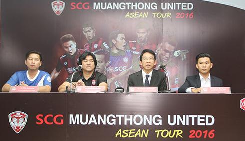 Bình Dương đấu đội bóng của Thái Lan tại TP HCM