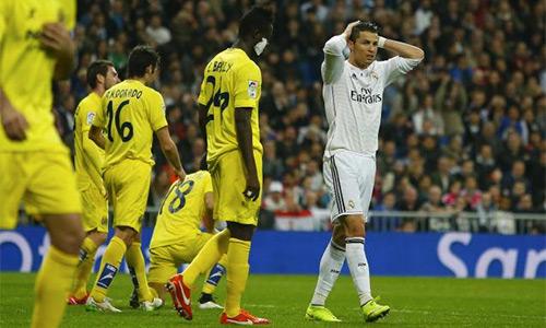 Ronaldo chưa ghi bàn trong các trận đấu lớn mùa này