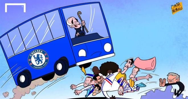 'Mourinho đẩy học trò vào gầm xe, Ronaldo méo mặt vì tàu ngầm vàng' - ảnh thể thao
