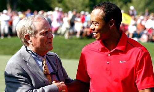 Jack Nicklaus khuyên Tiger Woods nên kiên nhẫn