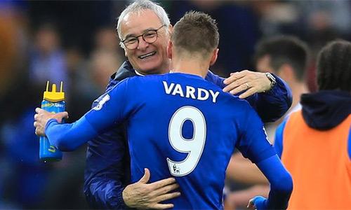 Ranieri hướng tới khoản tiền thưởng triệu đôla tại Leicester