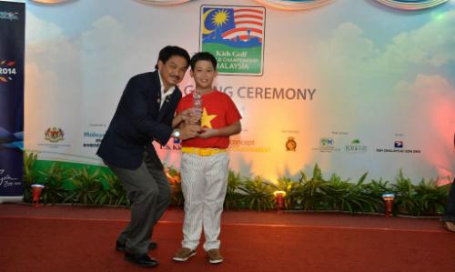 Golf thủ nhí Việt Nam vô địch thế giới
