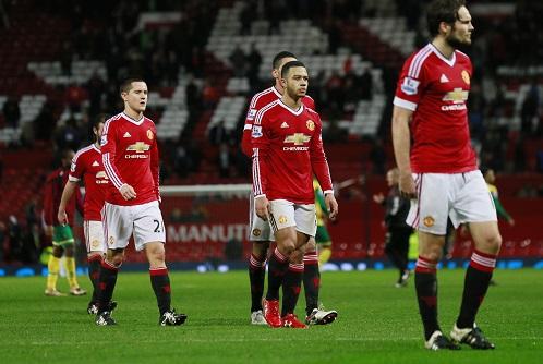 Man Utd trải qua chuỗi trận tệ nhất sau 17 năm