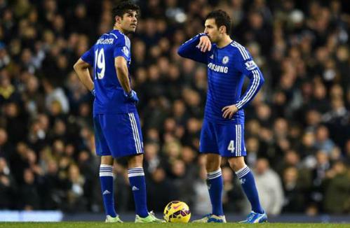 Terry: 'Đừng đổ lỗi cho Fabregas và Costa'