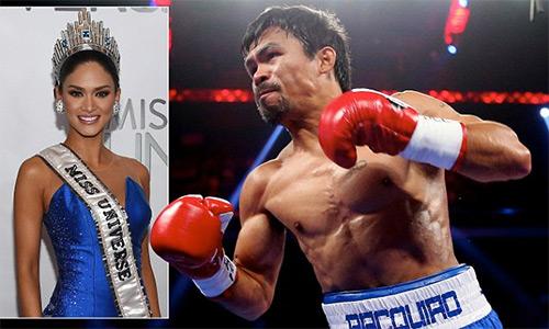 Manny Pacquiao ca ngợi Hoa hậu Hoàn vũ 2015