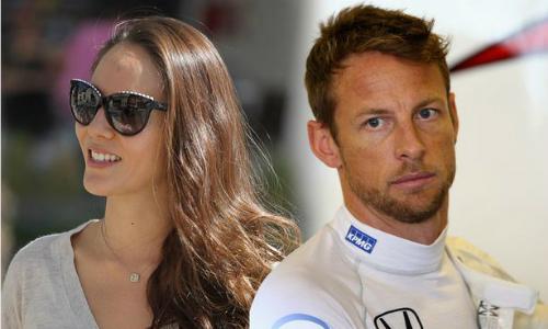 Jenson Button ly hôn người mẫu nội y