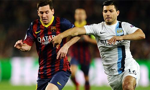 Aguero mời gọi Messi gia nhập Man City