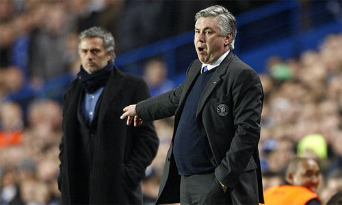 Ancelotti từ chối thay Mourinho ở Chelsea
