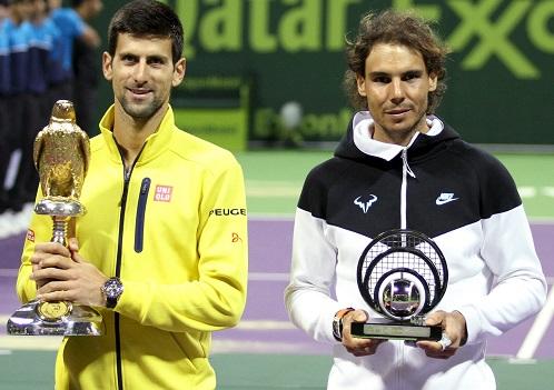 Djokovic thắng dễ Nadal, đăng quang Qatar Mở rộng