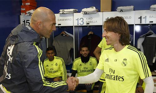 Modric: 'Tiếc cho Benitez, nhưng Zidane là HLV phù hợp ở Real'