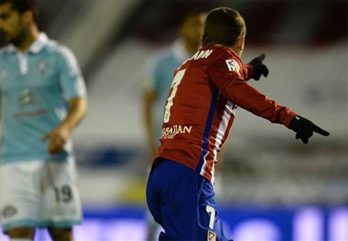 Atletico chiếm lại vị trí dẫn đầu từ tay Barca