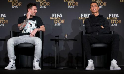 Ronaldo: 'Tôi muốn có cái chân trái của Messi'