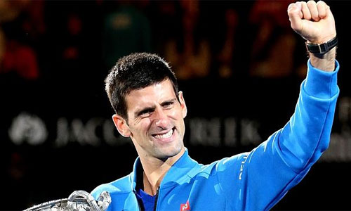 87% tiền cá cược đặt cửa Djokovic vô địch Australia Mở rộng