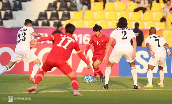 U23 Việt Nam thua trận ra quân vòng chung kết châu Á