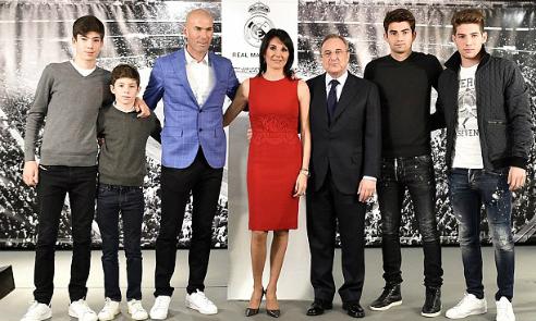 Các con của Zidane góp phần khiến Real gặp nạn