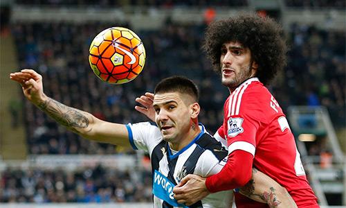 Fellani - trở lực cho sự thăng tiến của Man Utd mùa này