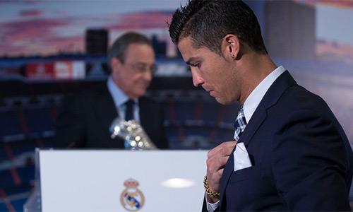 Chủ tịch Perez đã chán bảo vệ Cristiano Ronaldo