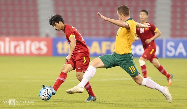 U23 Việt Nam gục ngã trước U23 Australia