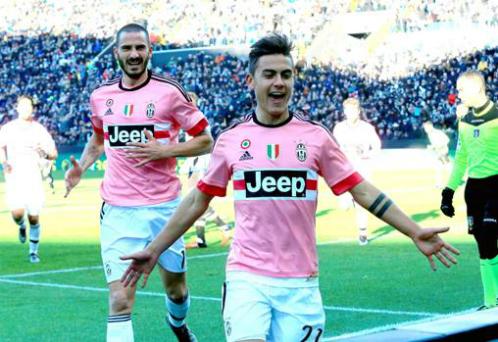 Juventus thắng 10 trận liên tiếp tại Serie A