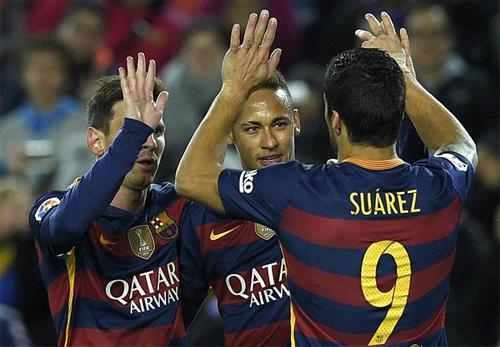 Suarez lập hat-trick, Barca trút mưa bàn thắng vào lưới Bilbao