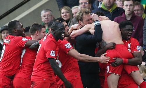 Norwich 4-5 Liverpool: Trận cầu điên rồ