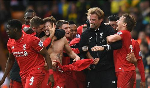 Báo Anh gọi Norwich - Liverpool là 'trận đấu của mùa giải'