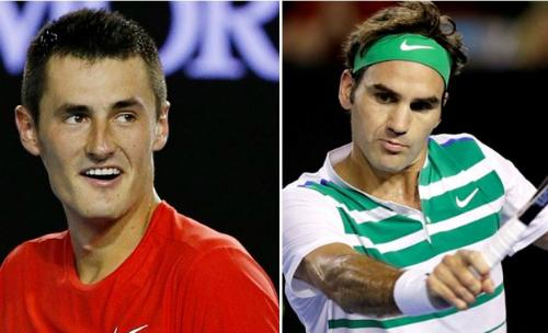 Tomic: 'Federer hiện tại kém xa Djokovic'