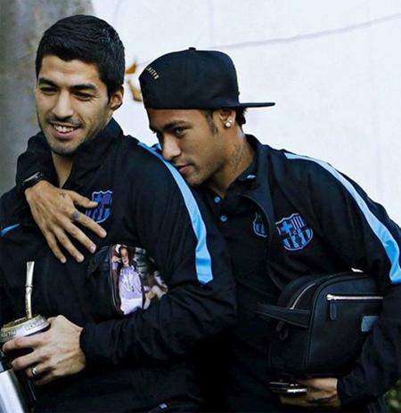 Neymar chê Suarez béo trong thông điệp hài hước mừng sinh nhật