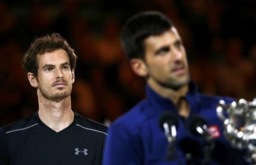 Murray rơi nước mắt nghĩ đến vợ con sau khi thua Djokovic