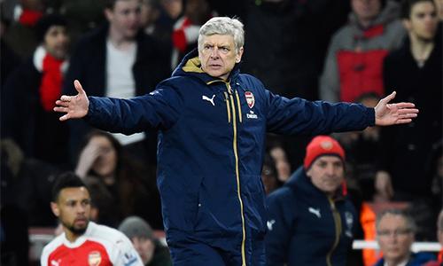 Wenger: 'Arsenal đang chơi trò đuổi bắt trong cuộc đua vô địch'